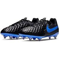Nike Tiempo Legend Club Soft Ground Football Boots Juniors Black Soccer Cleats