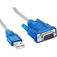 SIENOC USB を シリアル コネクタ に 変換する ケーブル ( USB typeA to RS-232C D-sub 9ピン )