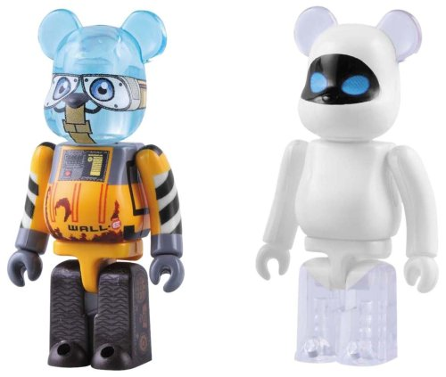 RoomClip商品情報 - BE@RBRICK WALL・E & EVE 2PACK(ABS&PVC塗装済みアクションフィギュア)