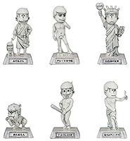 おそ松さん 彫像松 トレーディングフィギュア BOX商品 1BOX=6個入り、全6種類