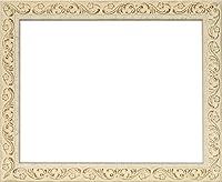 デッサン額縁 8201/ホワイト B3サイズ(515×364mm) アクリル