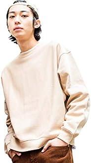 [ウィゴー] WEB限定 男女兼用 カラービッグ 無地 トレーナー スウェット パーカー ゆったり ルーズ メンズ レディース