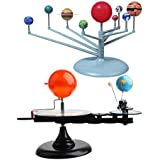 KESOTO 教育DIYおもちゃ プラスチック製 太陽地球月軌道 プラネタリウムモデル