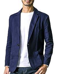 liberte riche(リベルテ リッシュ) メンズ ジャケット テーラードジャケット スウェット ビジネス カジュアル 細身 ストレッチ 6color 5サイズ展開