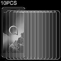 携帯電話強化ガラスフィルム 10 PCS 9H 2.5D非フルスクリーン強化ガラスフィルムのアルカテル1 強化ガラスフィルム