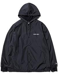 [ニューエラ] メンズ レディース フーデット コーチジャケット HOODED COACH JKT NEWERA ブラック 11783114