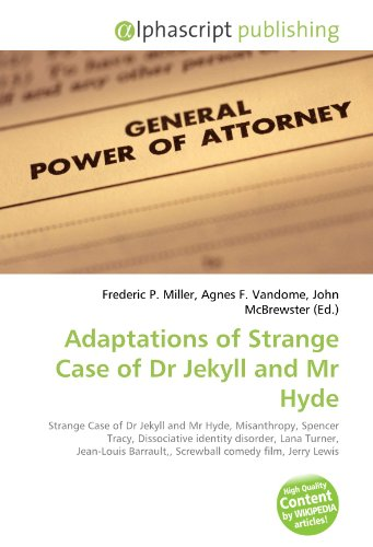 Adaptations of Strange Case of Dr Jekyll and MR Hyde