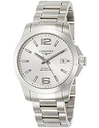 [ロンジン]LONGINES 腕時計 コンクエスト 自動巻き L3.676.4.76.6 メンズ 【正規輸入品】