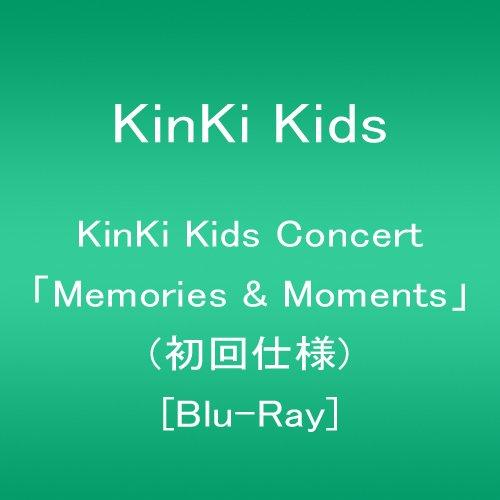 KinKi Kids Concert 「Memories & Moments」(初回仕様) [Blu-ray]