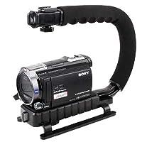 カメラアクセサリー CC-VH02 C型マウントホルダーハンドル デジタル一眼レフ/ビデオカメラDV対応