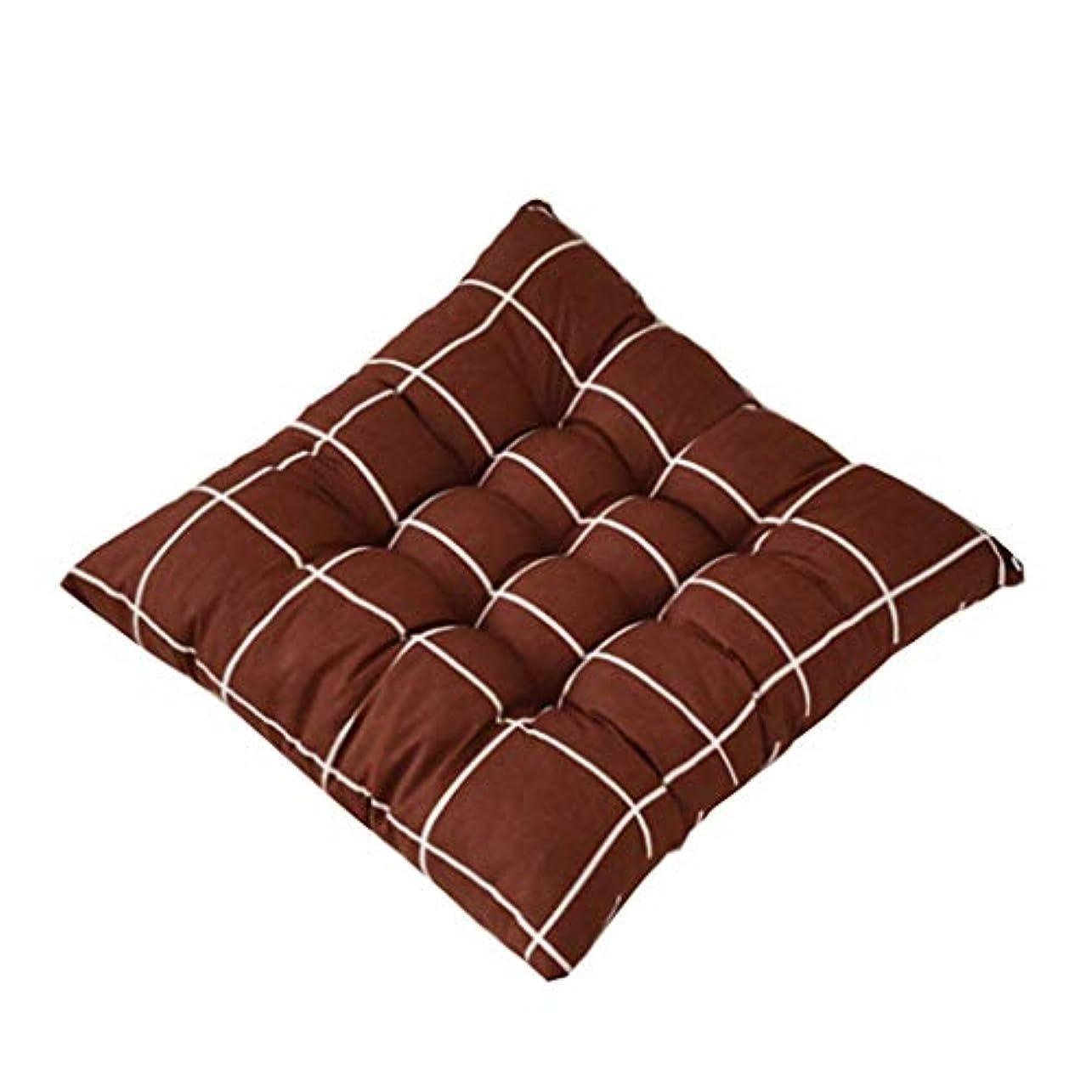 リングレット郵便局練習LIFE 正方形の椅子パッド厚いシートクッションダイニングパティオホームオフィス屋内屋外ガーデンソファ臀部クッション 40 × 40 センチメートル クッション 椅子