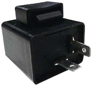 MADMAX ICウインカーリレー 12V 2ピン 汎用 LED対応  MM19-0276