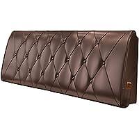 LIXIONG ヘッドボードクッションカーブドヘッドボードソフトパッケージダブルベッドサイドの大きな背もたれ枕ウエストパッド取り外し可能かつ洗濯可能,10色、5サイズオプション (色 : 17With Headboard#, サイズ さいず : 150x60x10cm)