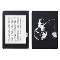 igsticker kindle paperwhite 第4世代 専用スキンシール キンドル ペーパーホワイト タブレット 電子書籍 裏表2枚セット カバー 保護 フィルム ステッカー 016029 宇宙 地球 星