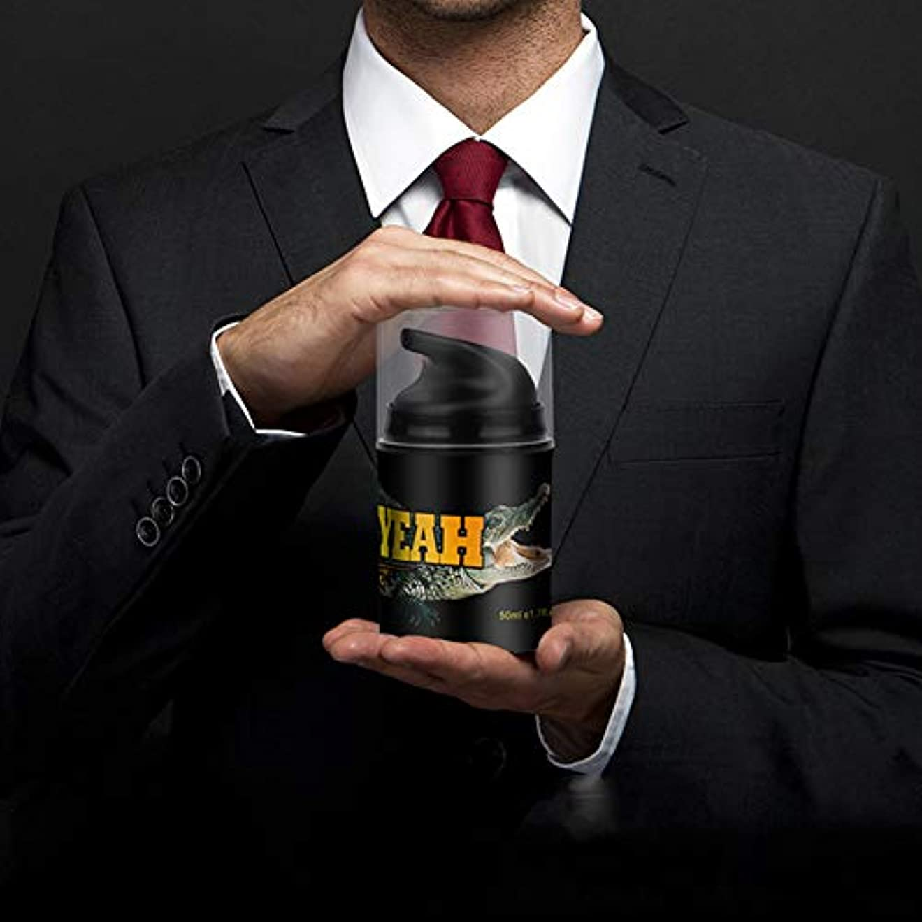 大いに傾斜パッドRabugoo 大人のおもちゃ ハーブ拡大ペニス拡大クリーム潤滑剤ゲル50ミリリットル男性ペニスエンハンサービッグコック増粘成長軟膏