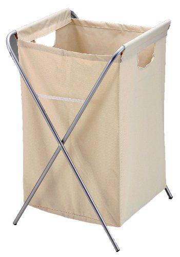 パール金属 ランドリー バスケット 角型 アイボリー アベル H-6876