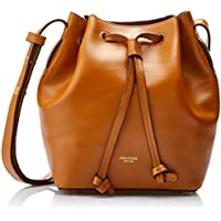 Oroton Women's Escape Mini Bucket Bag, Cognac, One Size