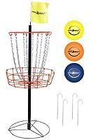 Park & SunスポーツポータブルFrisbee/ディスクスチールゴルフターゲットGoal withバスケット