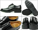 K641L ブラック メンズ ビジネスシューズ プレーントゥ 紳士靴 ケンフォード画像②