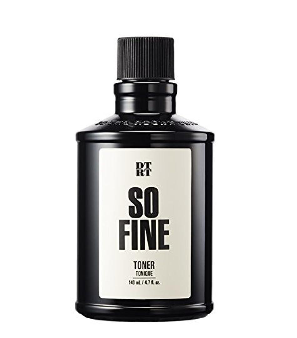 荒廃する鼓舞する原理DTRT トナーソファイン140ml For men / DTRT So Fine Toner / Korea Cosmetic
