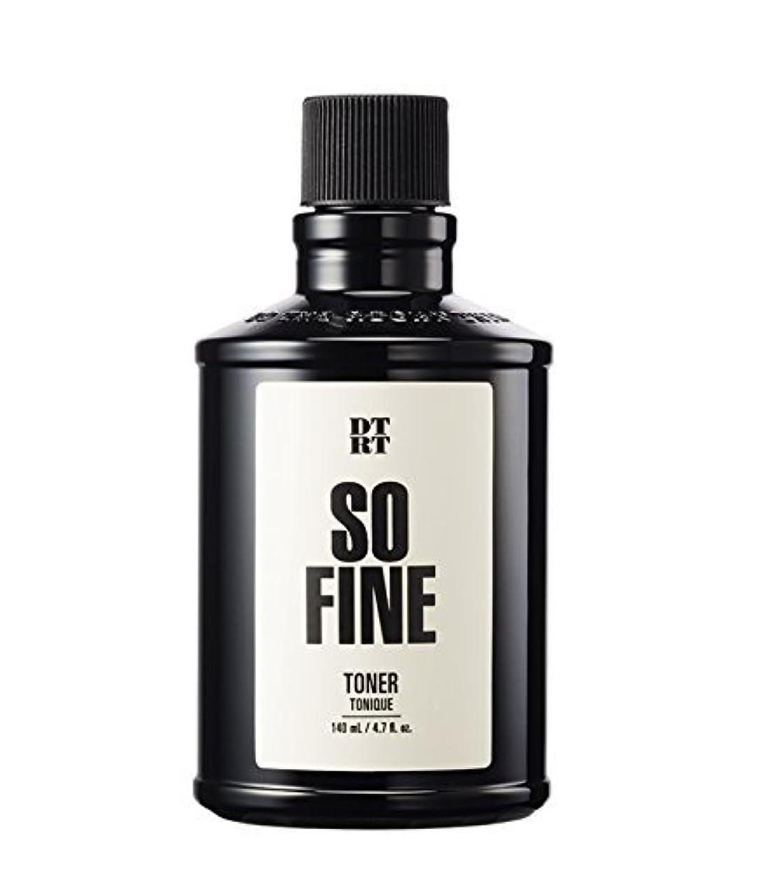 足首化粧胚DTRT トナーソファイン140ml For men / DTRT So Fine Toner / Korea Cosmetic