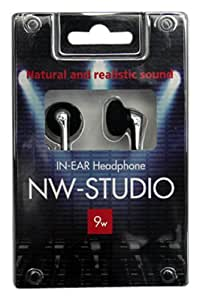 ninewave イン・イヤー ヘッドホン NW-STUDIO XNIW551211