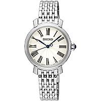 Seiko Women SRZ495P Year-Round Analog Quartz Silver Watch