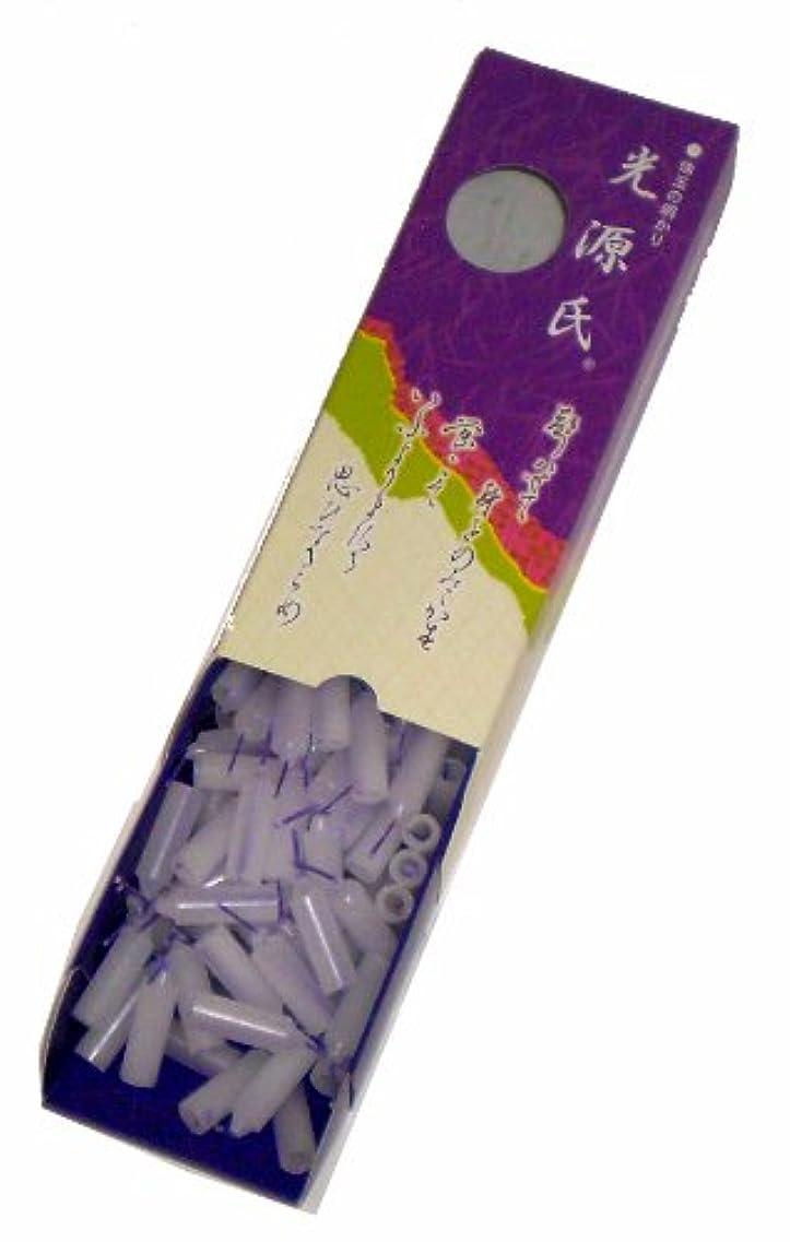 オペレーター謎めいた不適切な東海製蝋のろうそく 光源氏 小箱 約144本