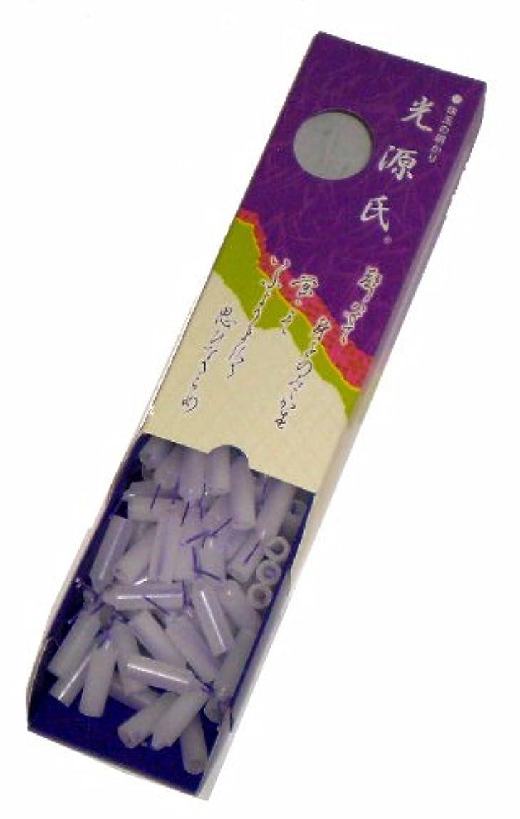 描写カバー風刺東海製蝋のろうそく 光源氏 小箱 約144本