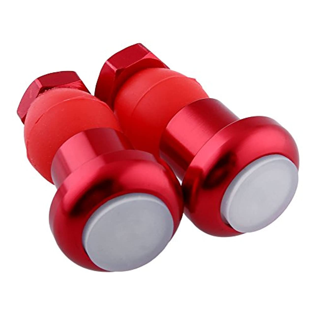 居心地の良い排泄する母Beautyrain 1ペア 自転車LEDハンドライト/テールライト/警告灯 ブラック/ホワイト/レッド