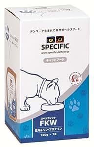 スペシフィック (SPECIFIC) 療法食 低Na-リン-プロテインFKW 猫用 100g×7個