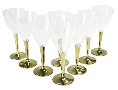 ワイングラス ゴールド 8個