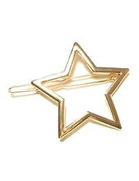 ゴールドスター ダボピン 星の形がかわいい髪留め