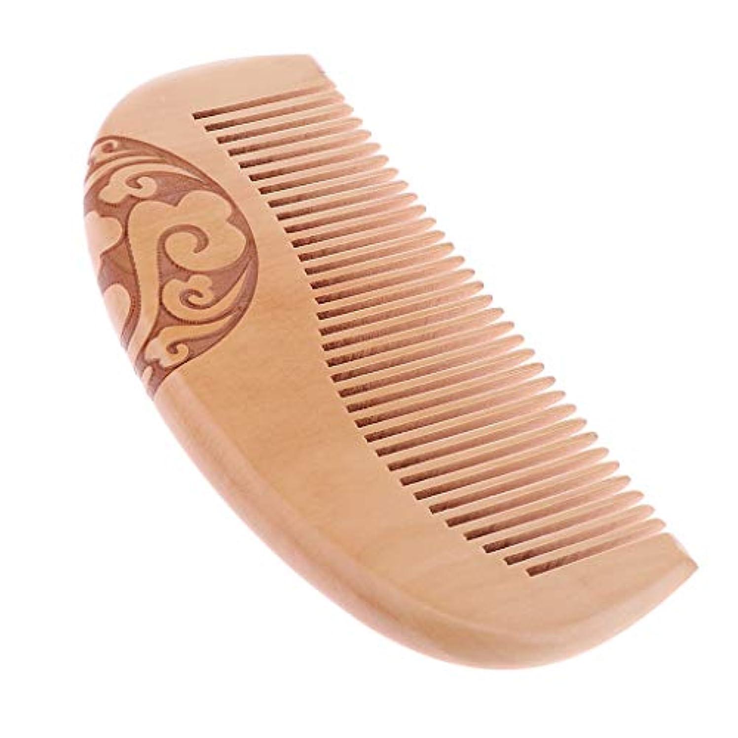 歯科の通知する満足できるF Fityle ウッドコーム 木製櫛 自然 プレゼント ヘアケア