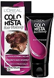 L'Oréal Paris Colourista Hair Makeup - Dirty Pink (Temporary 1-Day Colour Highlig