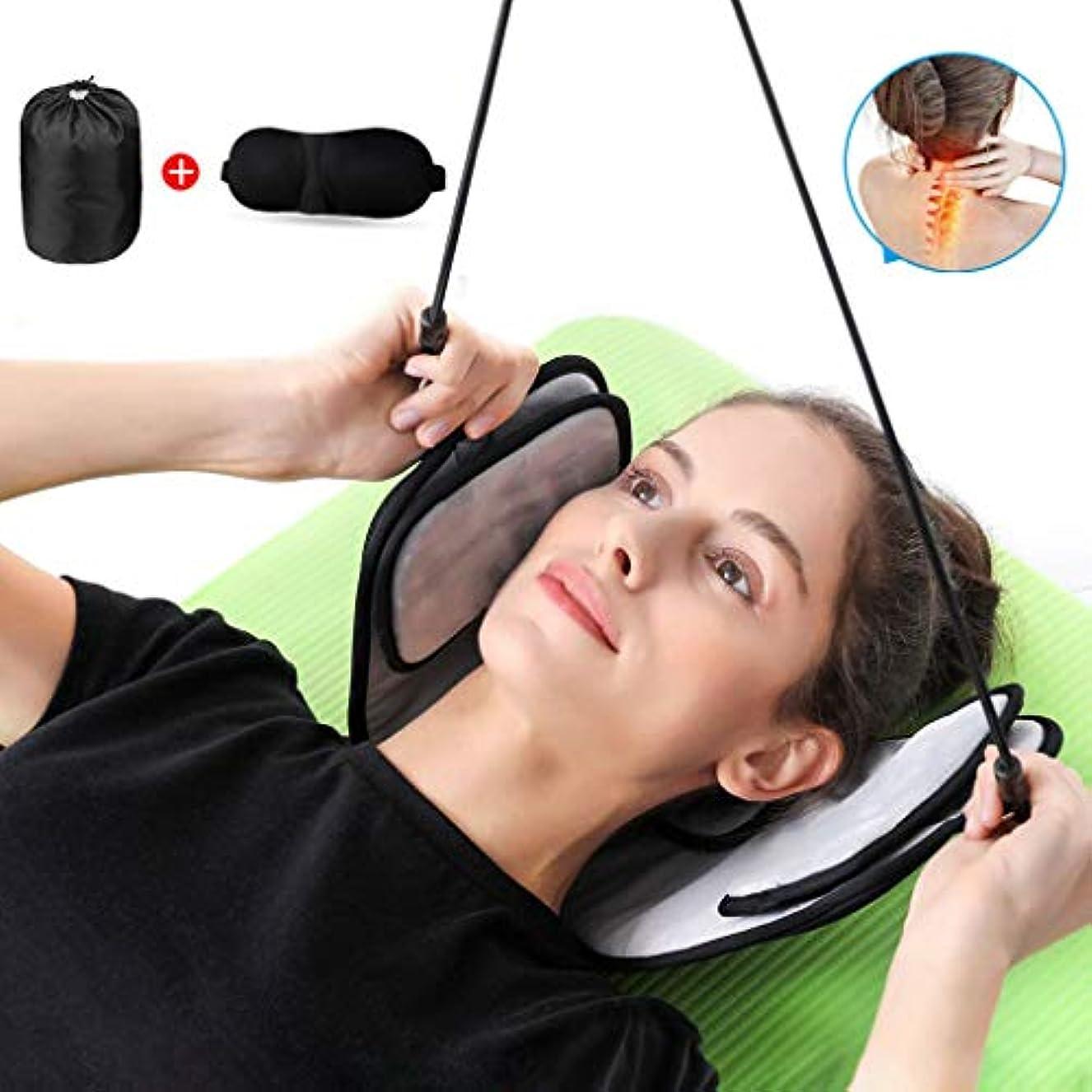 一方、火ネーピア首、肩の痛みを和らげるためのハンモックネック、携帯型頸部牽引およびストレッチャー装置、厚くて丈夫な縫合糸ゴムバンド、ヘッドハンモック