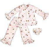 おやすみいちごパジャマセット ピンク
