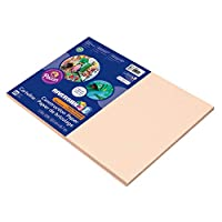 Riverside Construction Paper, 76 lbs., 12 x 18, Salmon, 50 Sheets/Pack (並行輸入品)