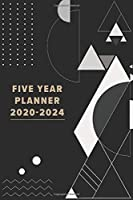 Five Year Planner 2020-2024: 2020-2024 Monthly Planner 5 Years