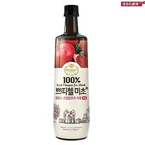 韓国食品]2013 新しくリニューアルした プティチェル ミチョ 美酢(ミチョ) 900ml x 3本セット