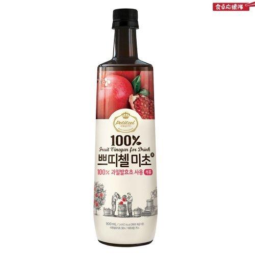 [韓国食品]2013 新しくリニューアルした プティチェル ミチョ 美酢(ミチョ) 900ml x 3本セット