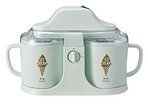 BRUNO デュアルアイスクリームメーカー グリーン BOE032-GR | イデアインターナショナル | キッチン家電 通販