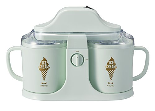BRUNO デュアルアイスクリームメーカー グリーン BOE032-GR