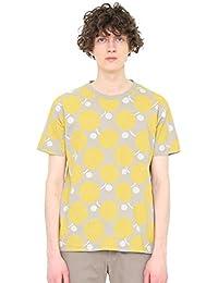 (グラニフ) graniph 総柄 Tシャツ C (バタフライフラワー) (グレー) メンズ レディース (g01) (g14)
