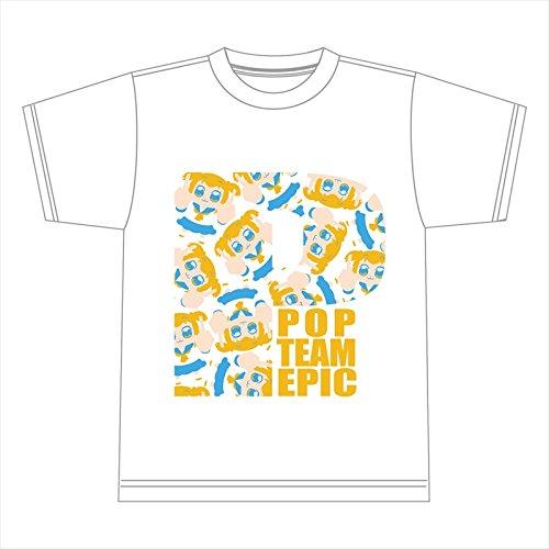 ポプテピピック ポプ子 コピペTシャツ Lサイズの詳細を見る