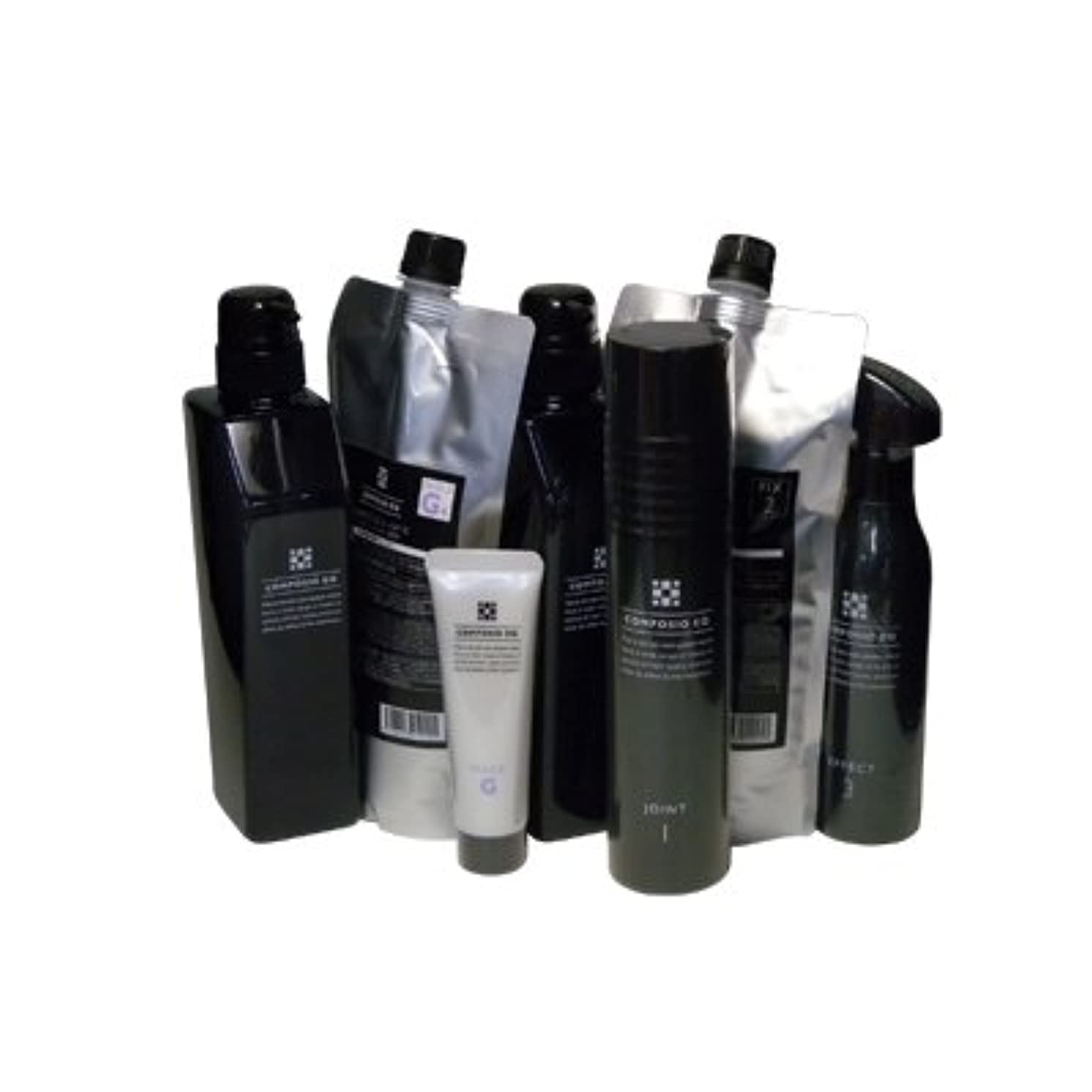 配当反動スカートデミ コンポジオ EQ フルセットG(ジョイント+フィックス+エフェクト+シールドG+マスクG)