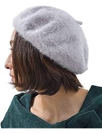 (アール?ピー?エス) r?p?s アンゴラベレー帽 0170800865
