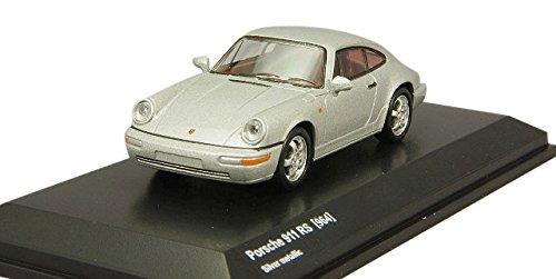 쿄쇼 오리지날 1/64 포르쉐 911 RS 964 실버 메탈릭