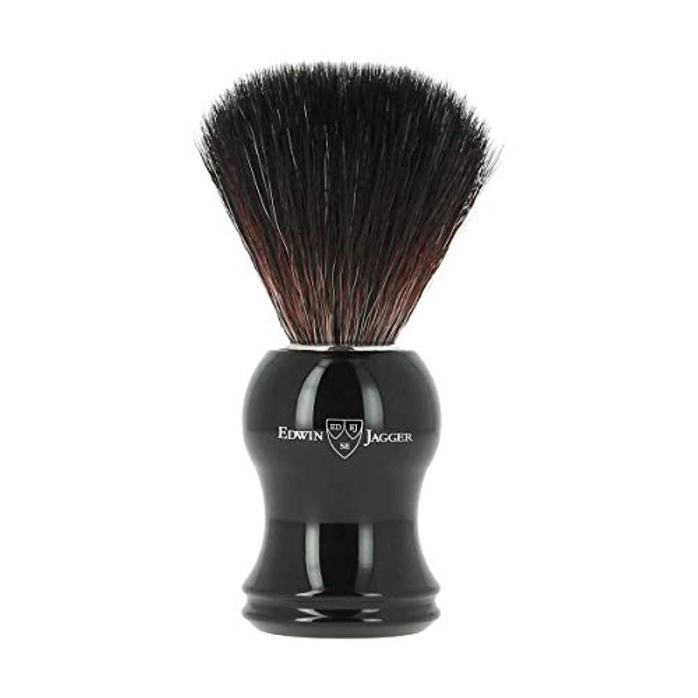 便利さ使い込むスラダムエドウィンジャガー エボニー 合成 シェービングブラシ21P36[海外直送品]Edwin Jagger Ebony Synthetic Shaving Brush 21P36 [並行輸入品]