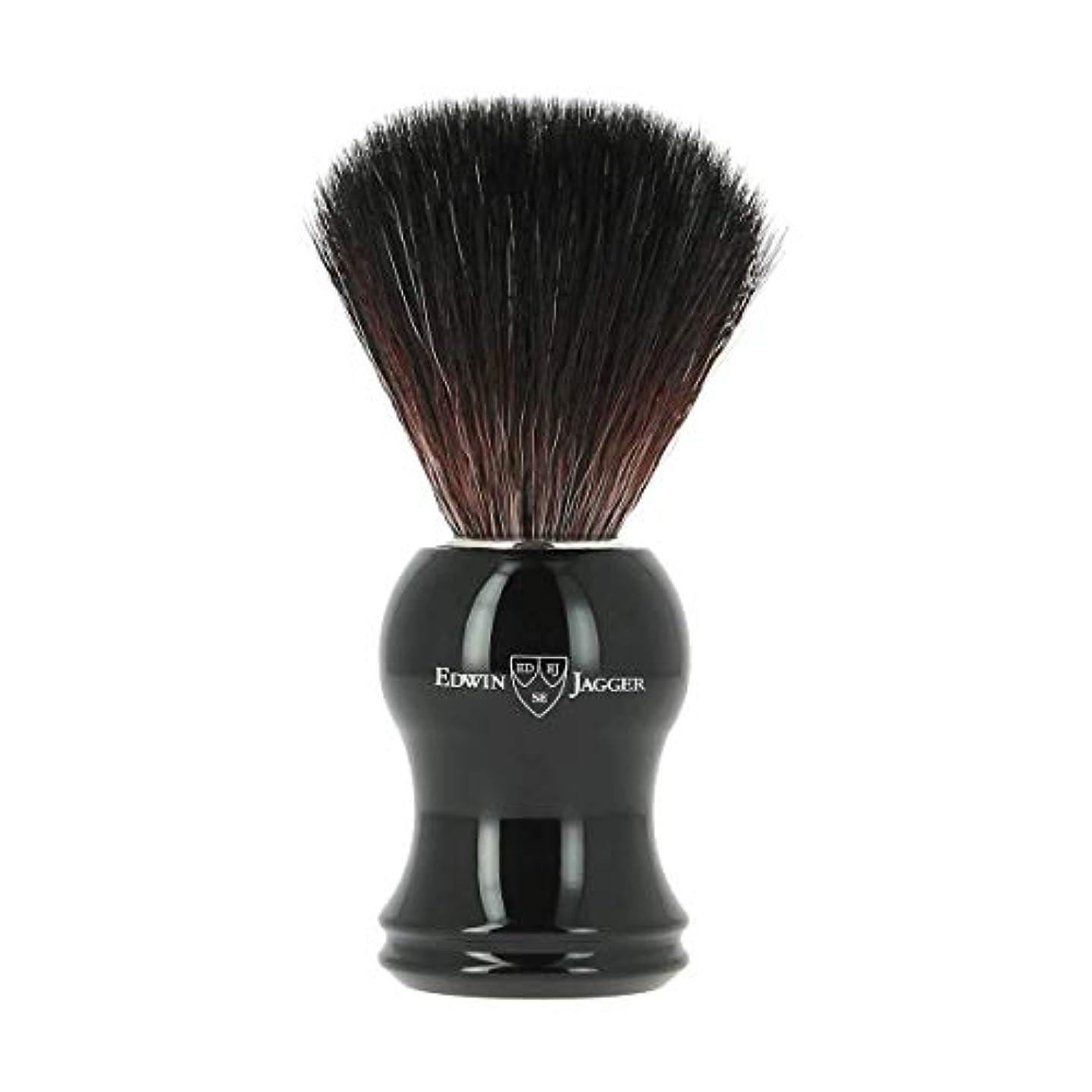 履歴書ハイランド思いやりエドウィンジャガー エボニー 合成 シェービングブラシ21P36[海外直送品]Edwin Jagger Ebony Synthetic Shaving Brush 21P36 [並行輸入品]